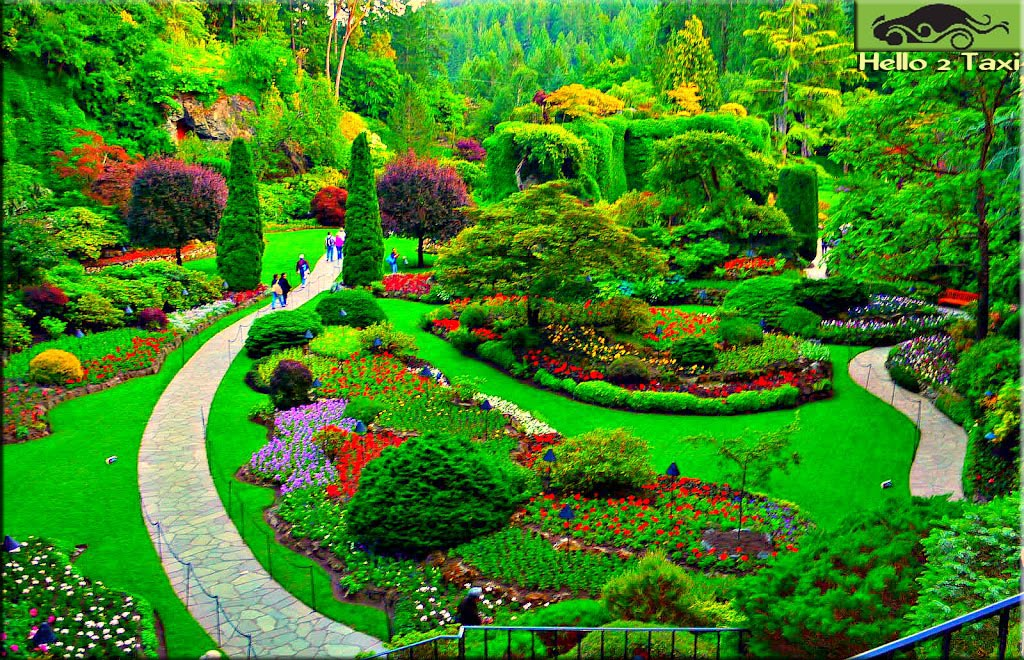 Butchart gardenscanada most famous garden in the world the gardens receive close to a million visitors each year the gardens have been designated a national historic site of canada due to their international thecheapjerseys Image collections